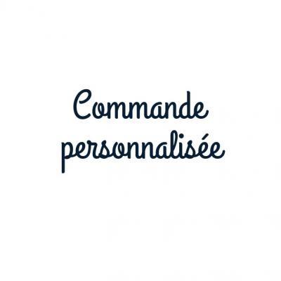 Commande personnalisée -  Sac besace homme