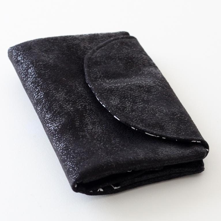 Portefeuille, compagnon : porte-monnaie, porte-chéquier et cartes ( noir Soft Cactus )