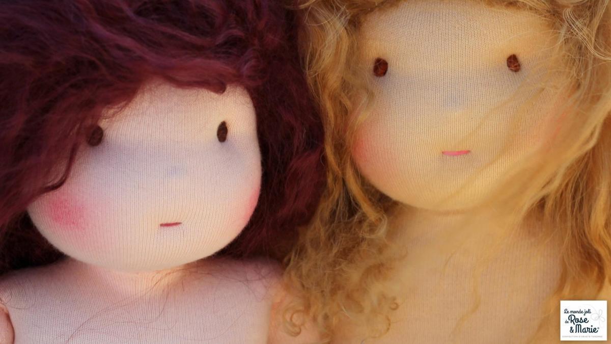 Madeleine et aurelie le monde joli de rose et marie