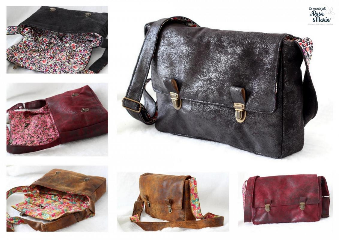 Sac besaces 32x23