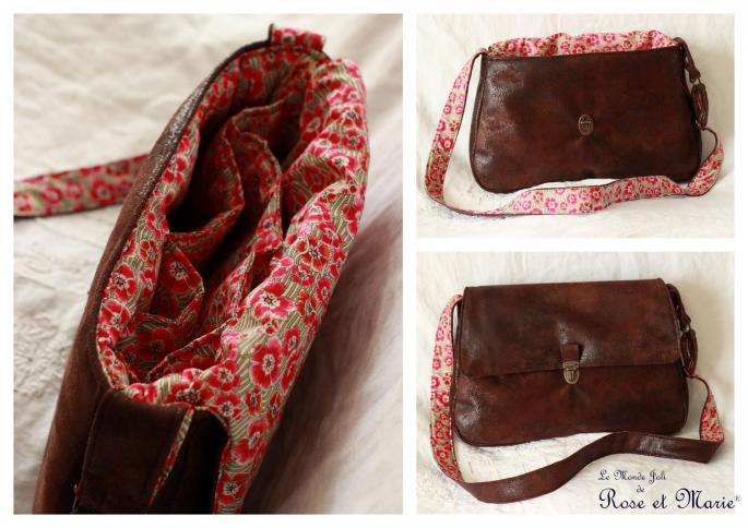 Sac en liberty ellie ruth rouge