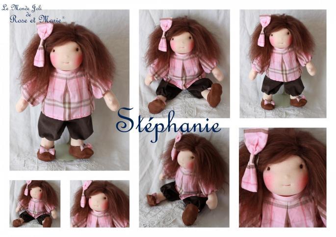 Stephanie le monde joli de rose et marie