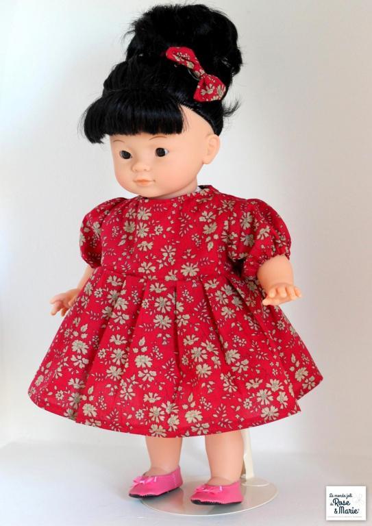Sur commande - Ensemble pour poupée Mademoiselle Corolle 36 cm
