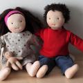 Couple-poupées-avec-bébé