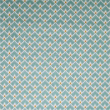 Tissu coton imprime ecaille
